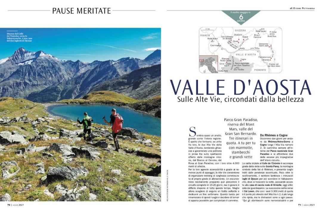 Pause meritate: Valle d'Aosta