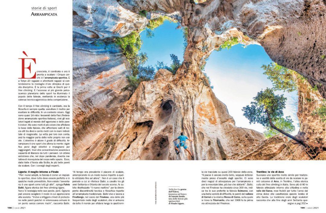 Storie di sport: arrampicata