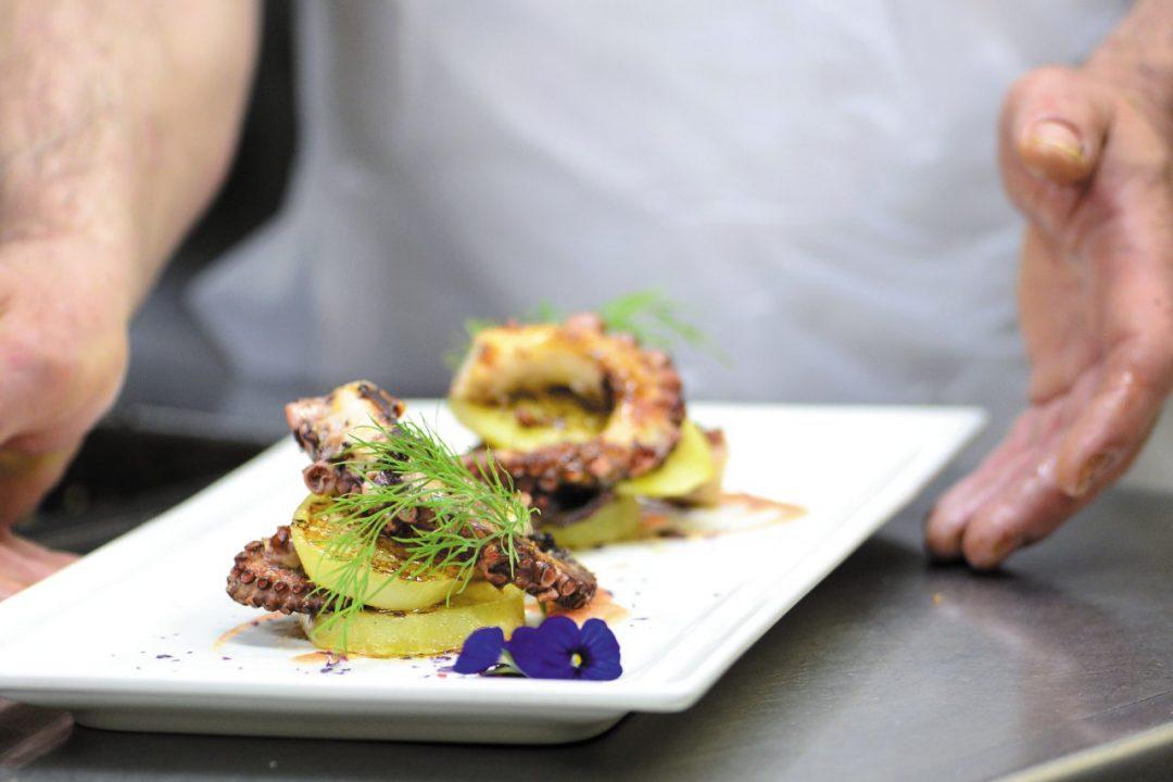 Il ristorante a Lignano Sabbiadoro