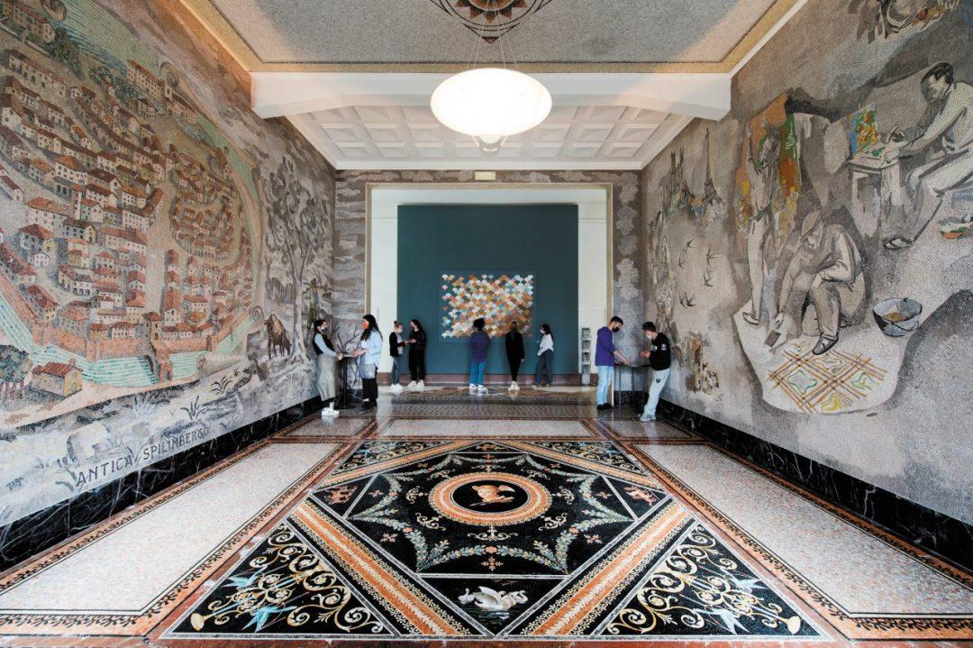 La Scuola dei mosaicisti del Friuli di Spilimbergo
