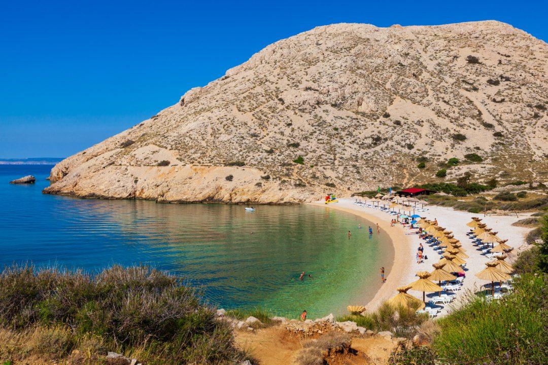 Spiagge Croazia Oprna, Krk