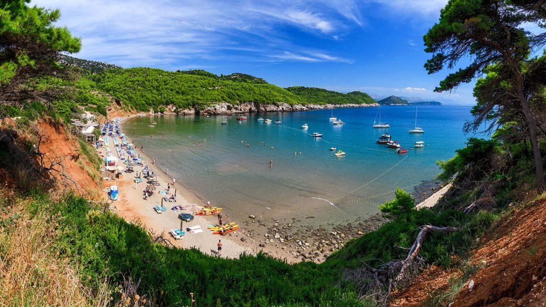 spiagge Croazia Sunj, Lopud