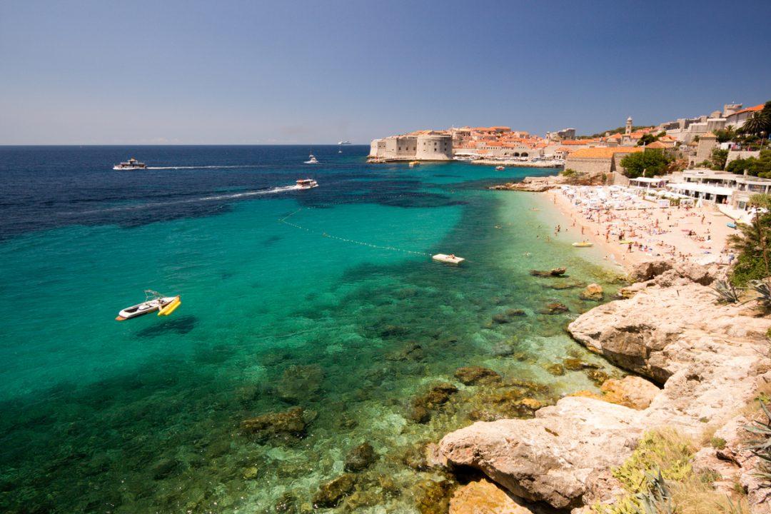 Spiagge Croazia Banje, Dubrovnik