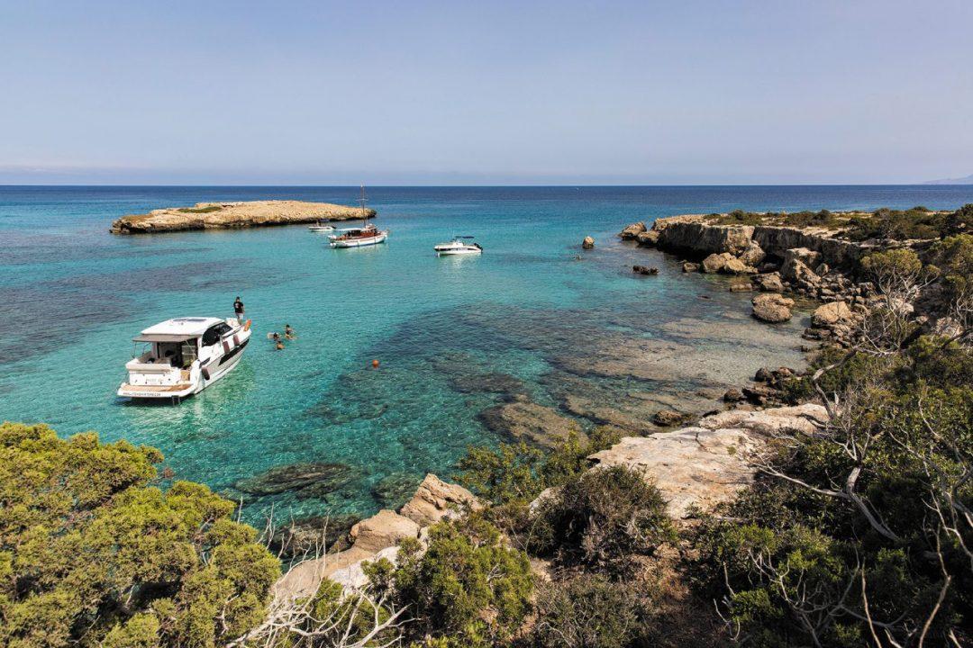 Blue Lagoon a Pafos sull'isola di Cipro
