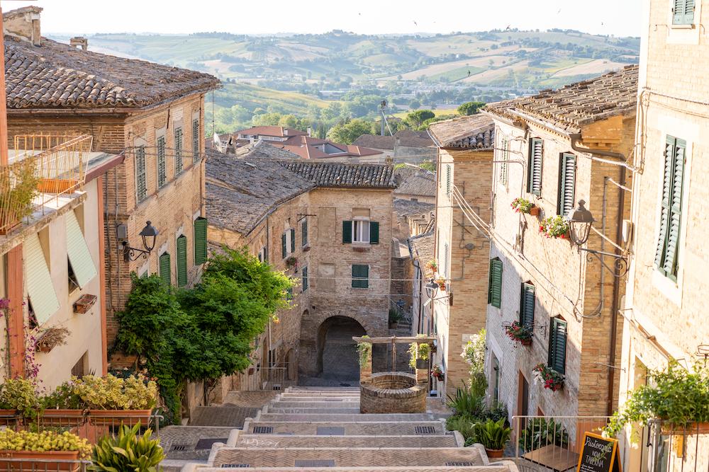 Notte Romantica a Corinaldo, provincia di Ancona, Marche
