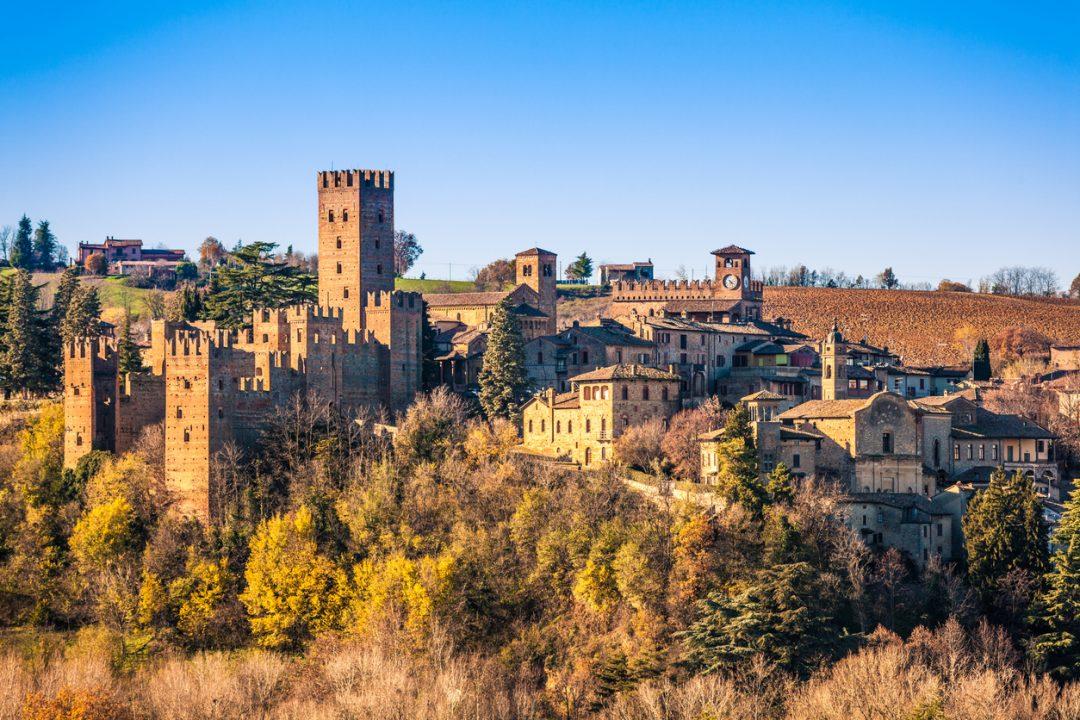 Notte Romantica a Castell'Arquato, provincia di Piacenza in Emilia-Romagna