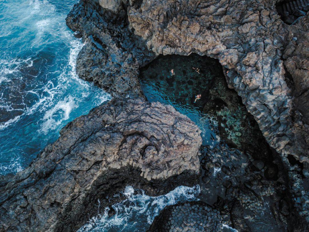 el hierrIl Charco Azul, una delle meraviglie di el hierro isola canarieo isola canarie