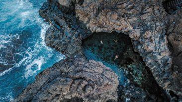Il Charco Azul, una delle meraviglie di el hierro isola canarie