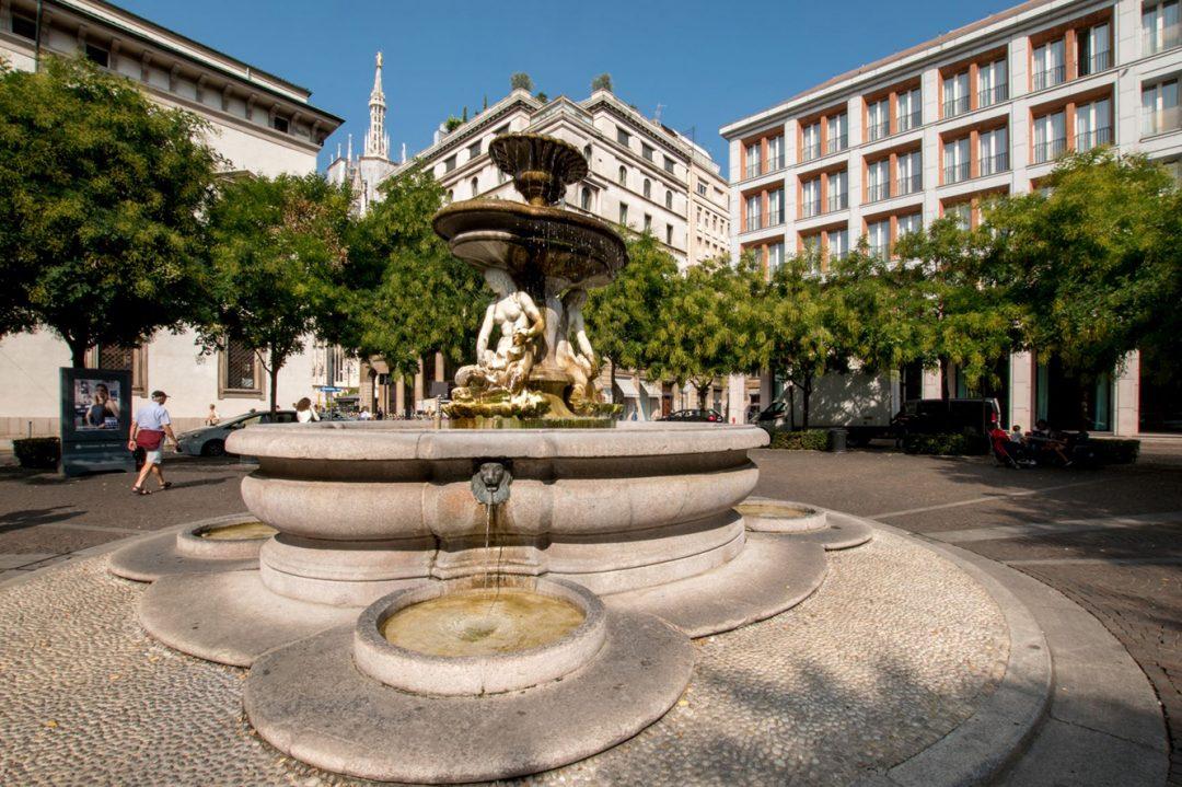 Fontana di piazza Fontana Milano