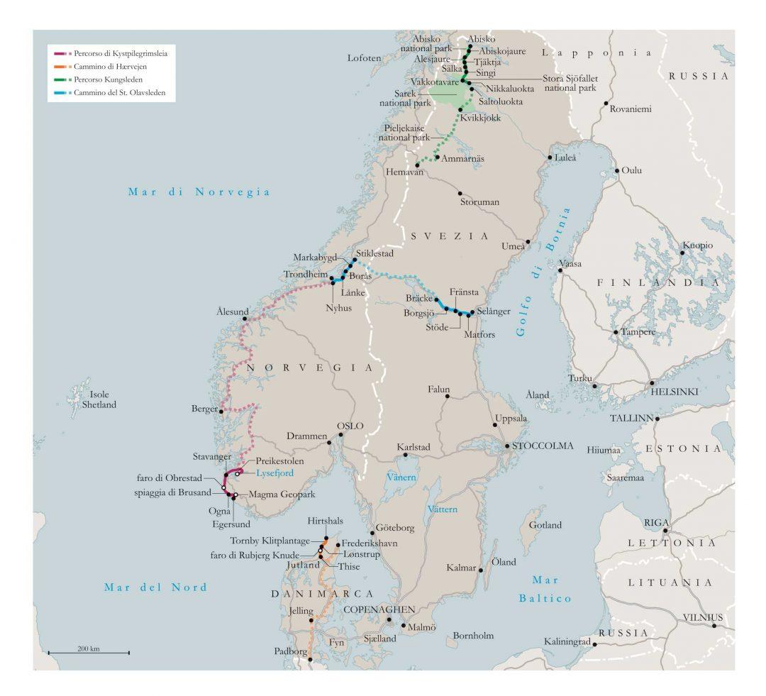 La magia del Nord Europa, da scoprire in cammino
