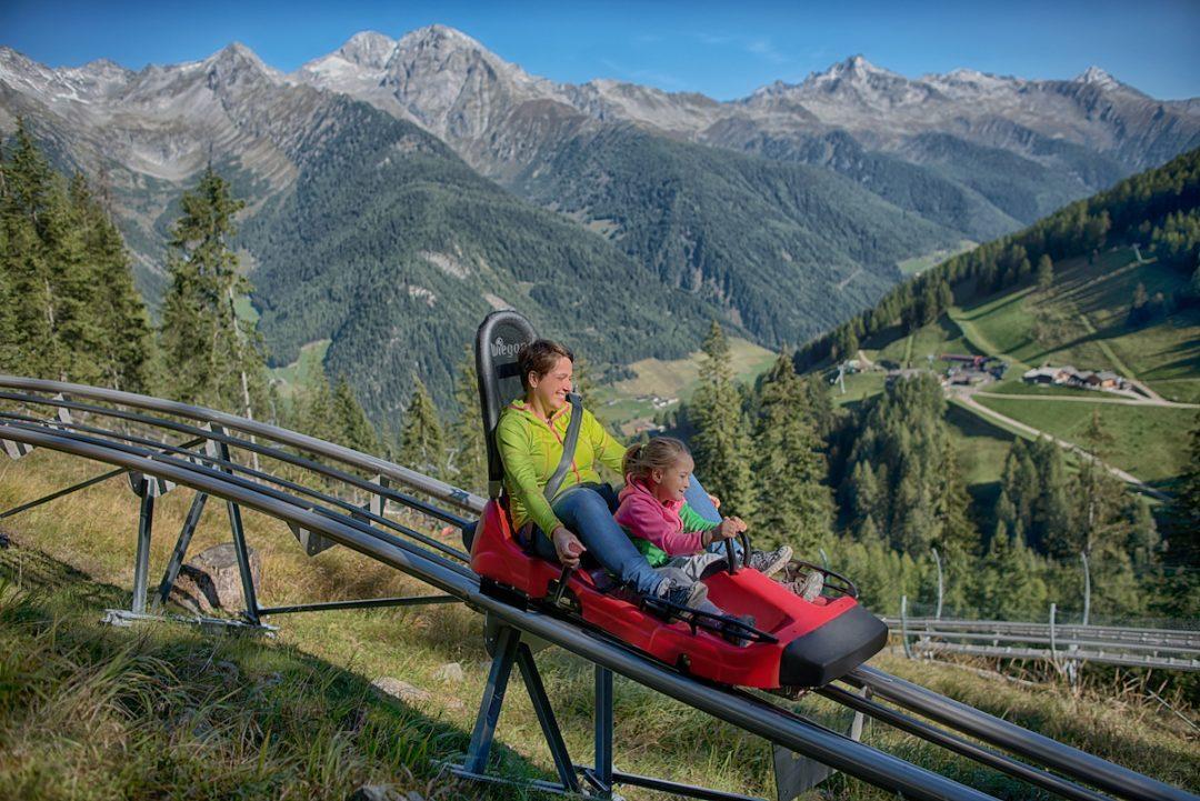 Sfrecciare sull'Alpine Coaster