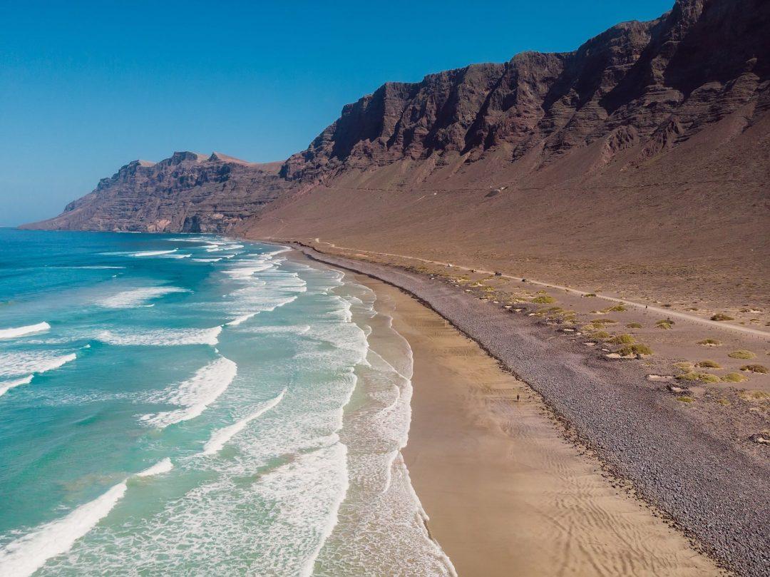 Spiaggia di Famara - Lanzarote