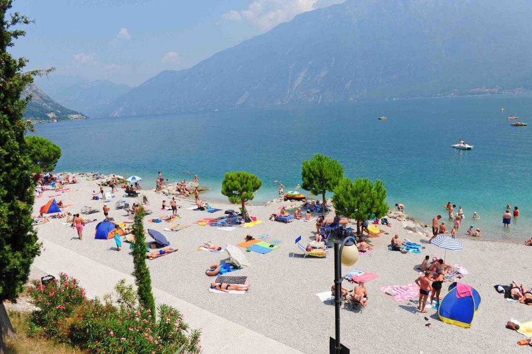 Spiaggia Cola, Limone sul Garda (Bs) - Lombardia