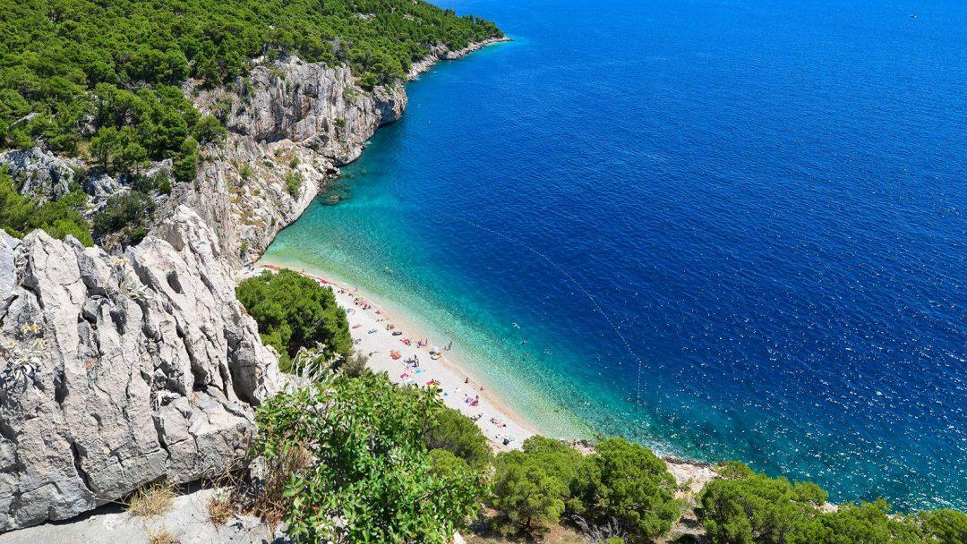 spiagge Croazia Nugal riviera di Makarska