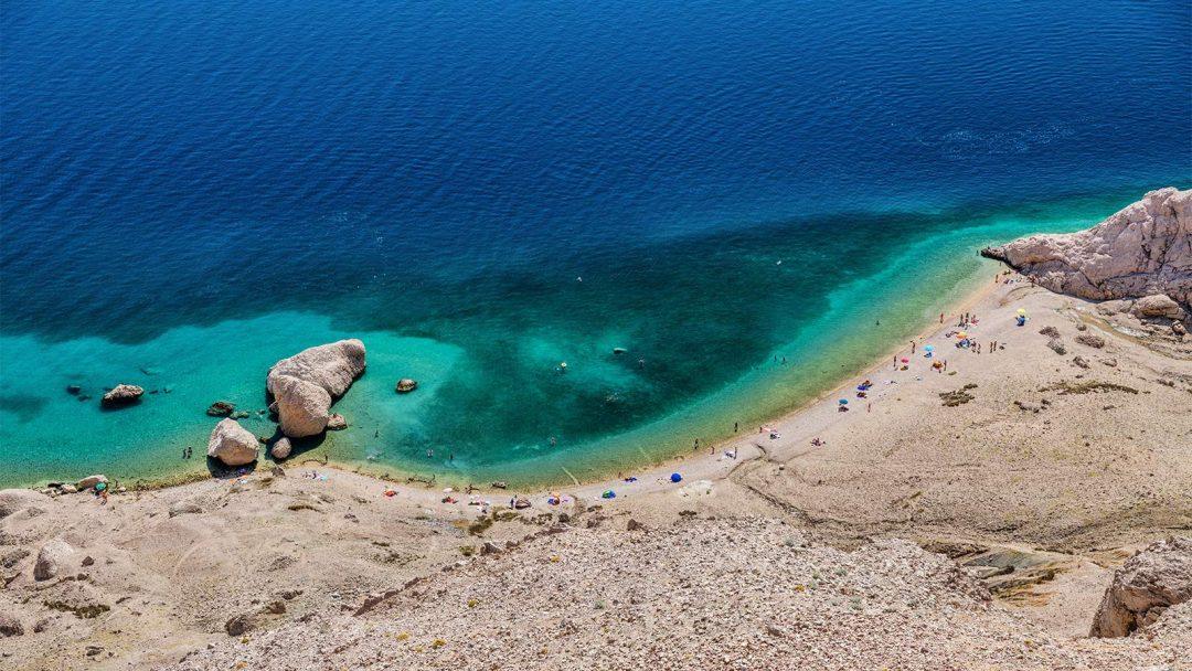 spiagge Croazia Beritnica, Pag