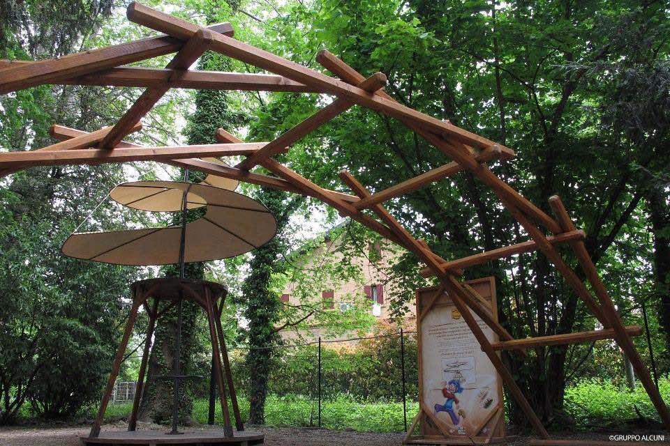 Parco degli alberi parlanti - Percorso
