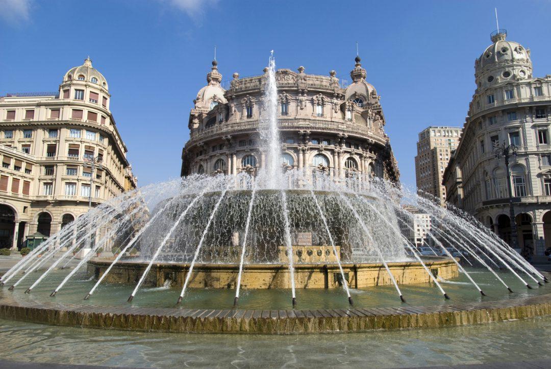 Fontana di Piazza De Ferrari Genova