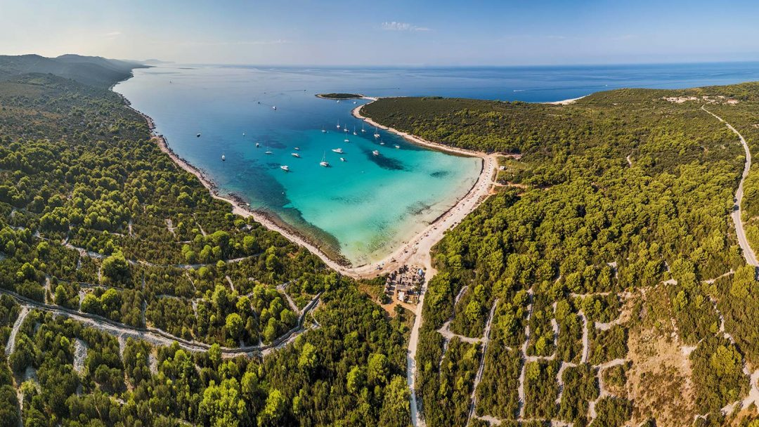 spiagge Croazia Sakarun, Dugi Otok,