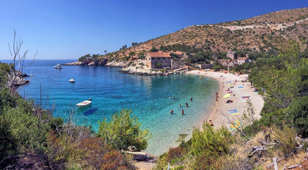 spiagge Croazia Dubovica Hvar