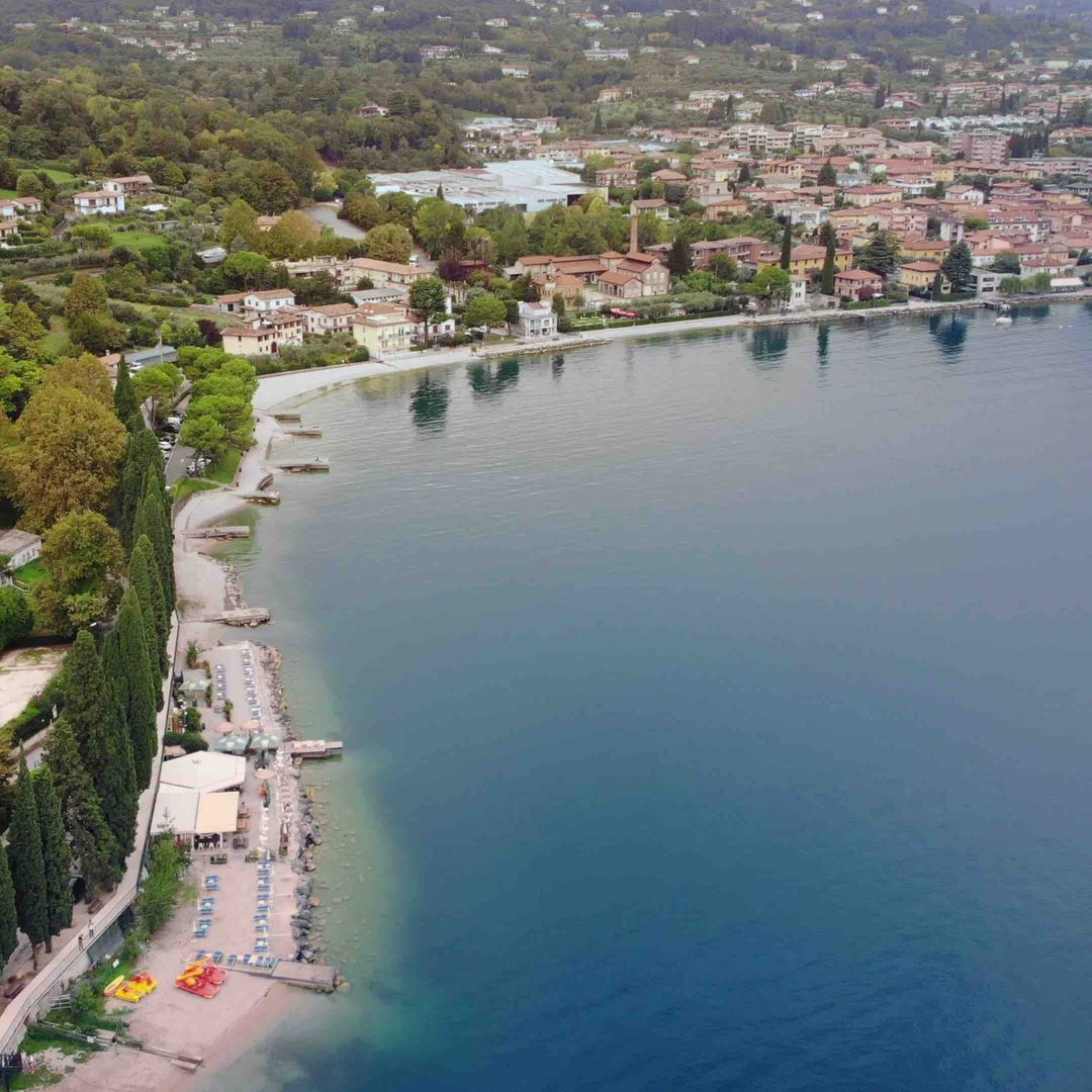 Spiaggia Tavine, Salò (Bs) - Lombardia