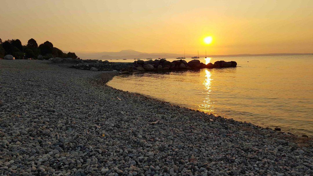 Spiaggia porto di Moniga, Moniga del Garda (Bs) - Lombardia