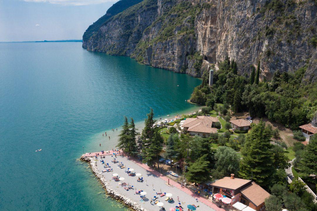 Spiaggia Pra dela Fam, Tignale (Bs) - Lombardia