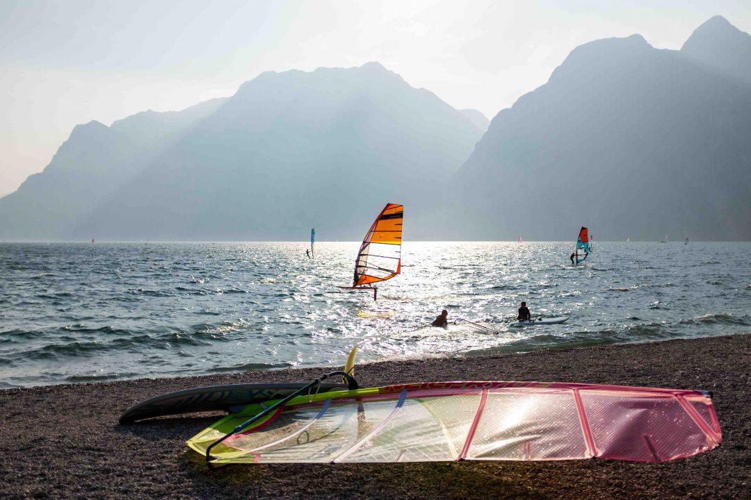 Le altre spiagge di Torbole (Tn) - Trentino