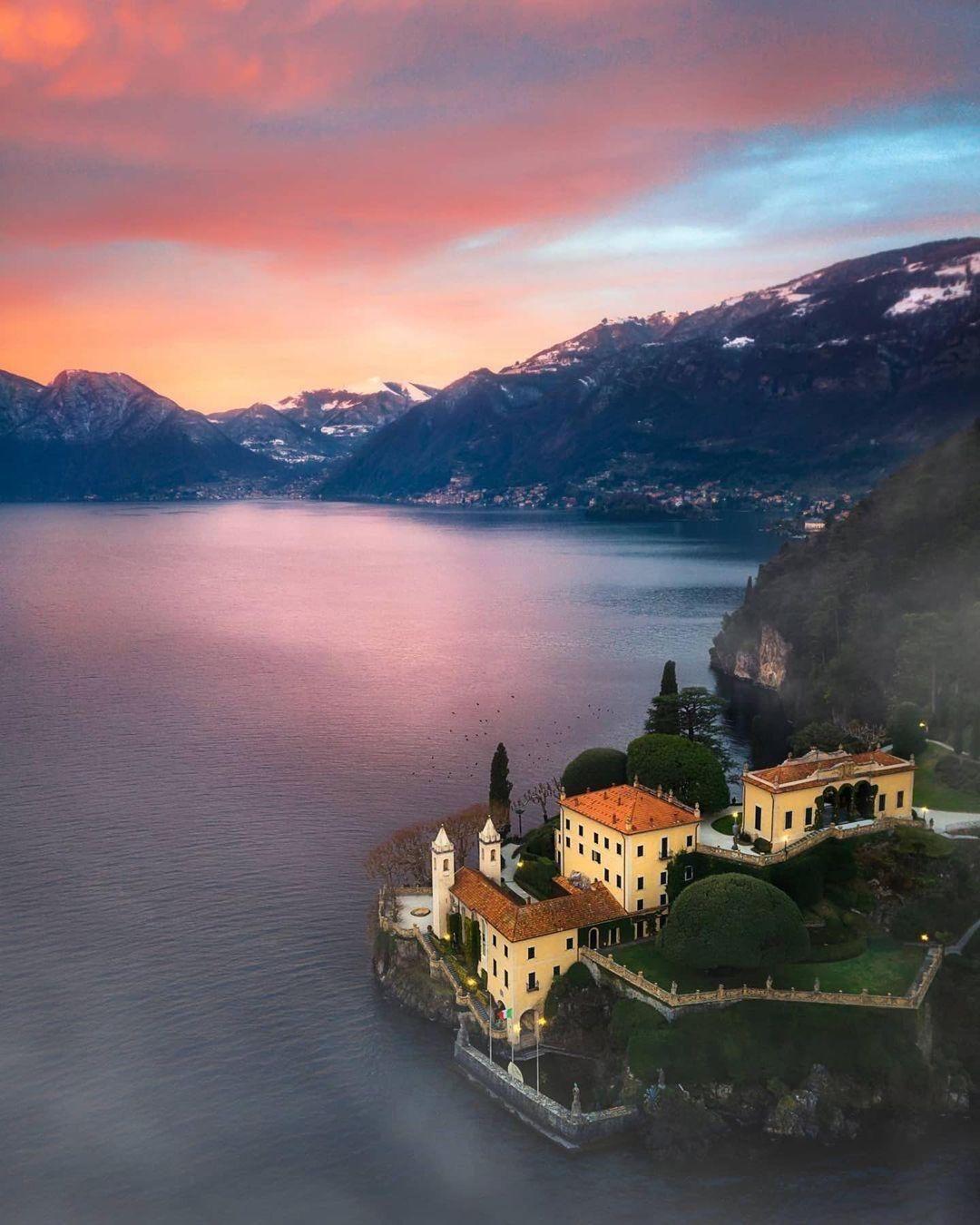 notte romantica nei Borghi più belli d'Italia Tremezzina Lago di Como, Lombardia