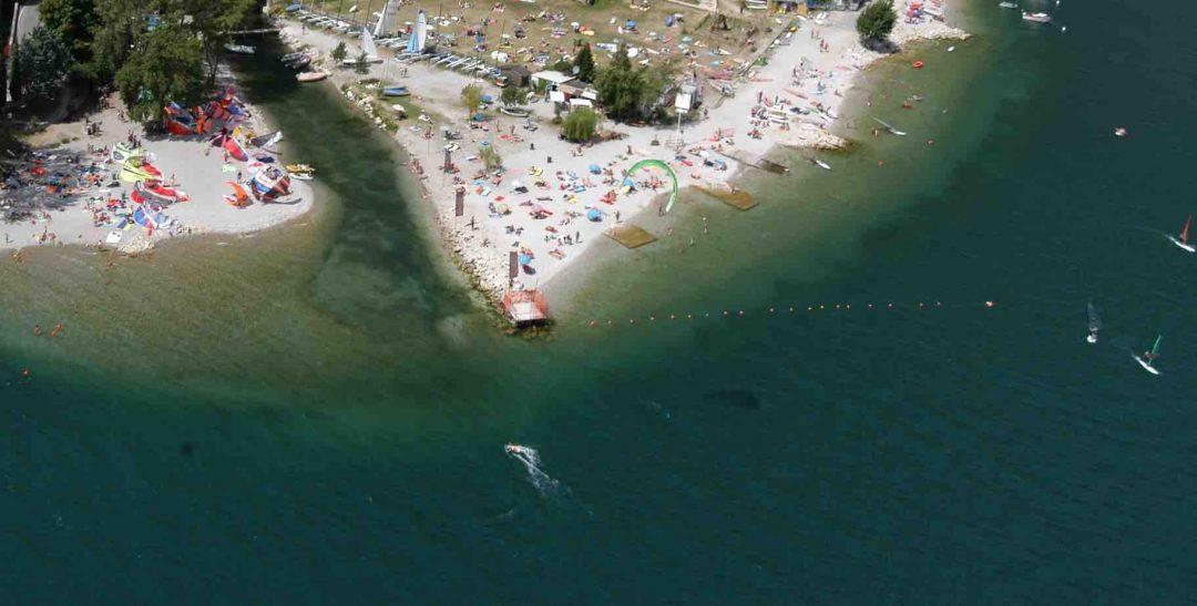 Spiaggia di Campione, Tremosine sul Garda (Bs) - Lombardia