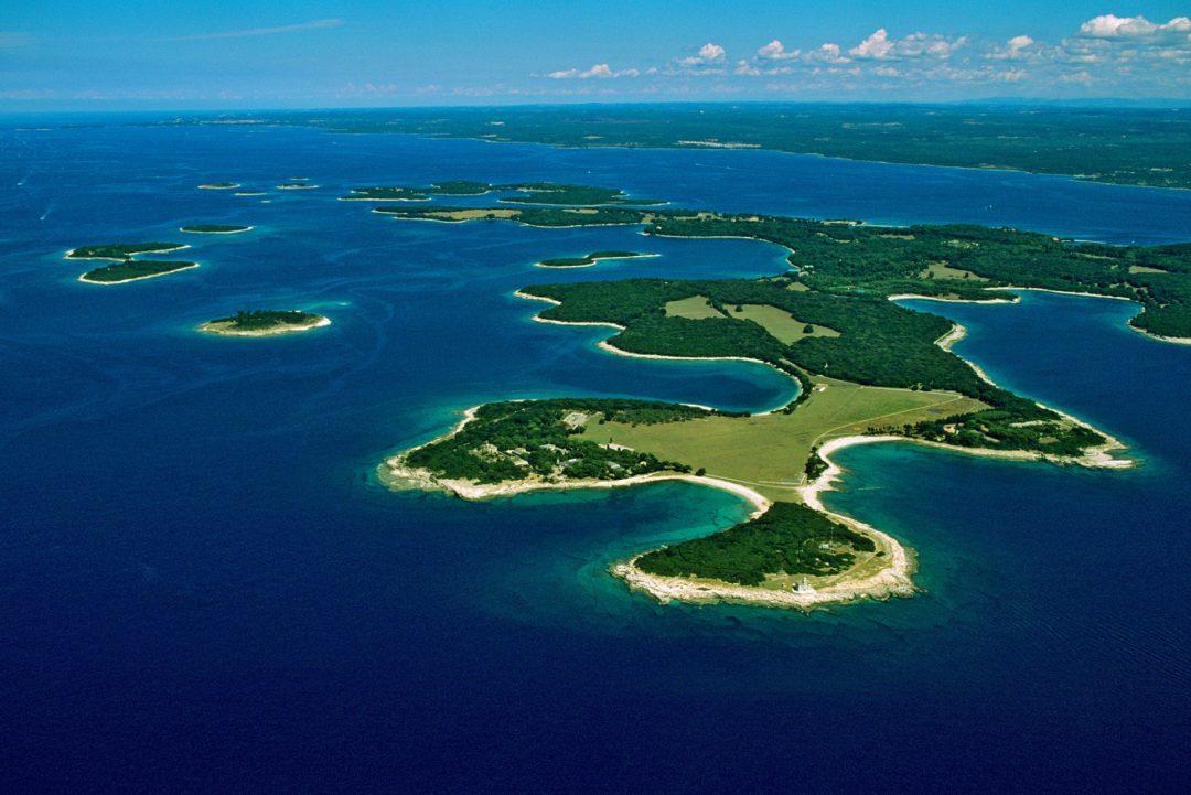 Veliki Brijun, isole Brioni, Croazia