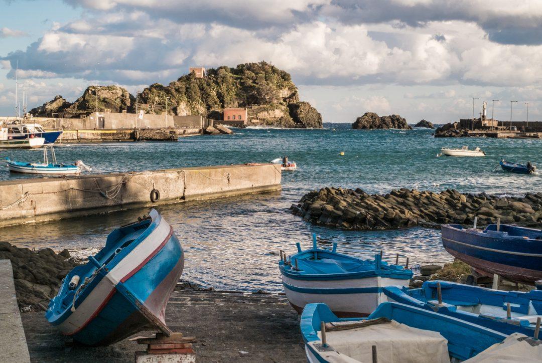 Da Taormina a Catania (Sicilia)