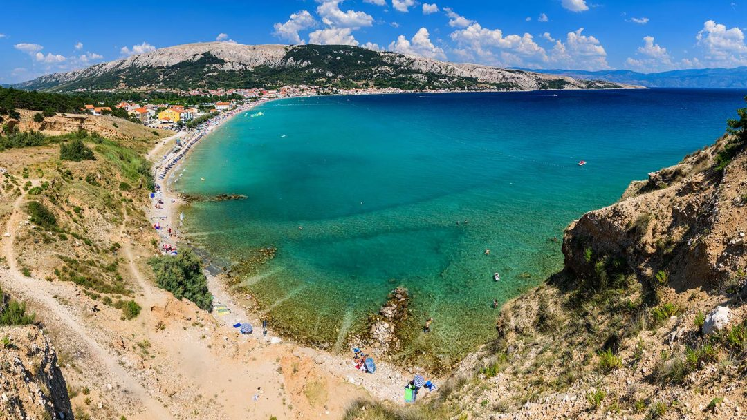 spiagge Croazia Vela Plaža, Krk