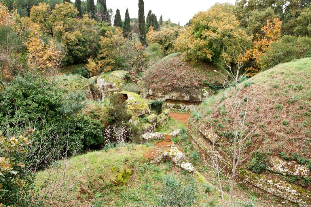 Merenda con gli Etruschi (Cerveteri)