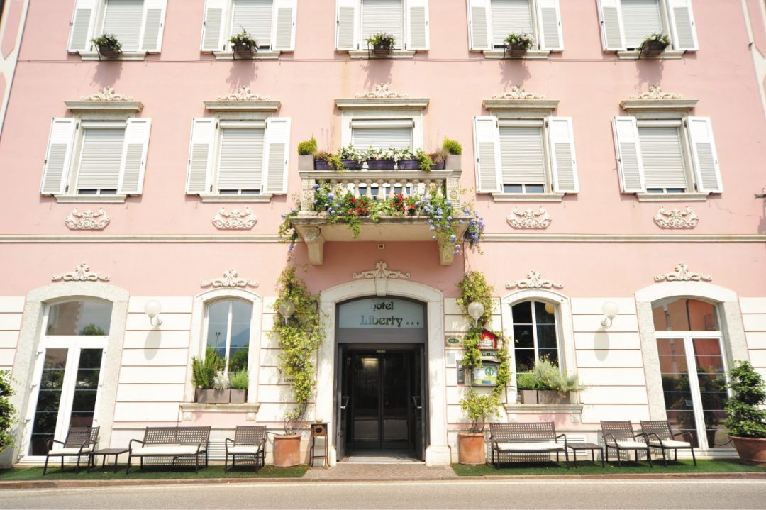 L'Hotel Liberty di Levico Terme