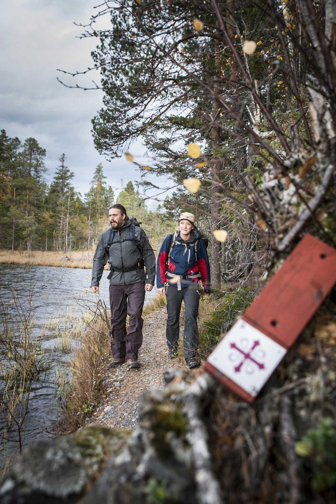 Il St. Olavsleden, tra Svezia e Norvegia