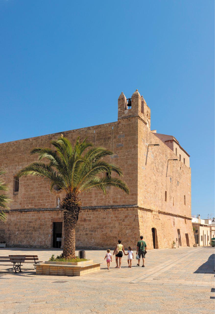 Il Santuario fortezza di San Vito Lo Capo