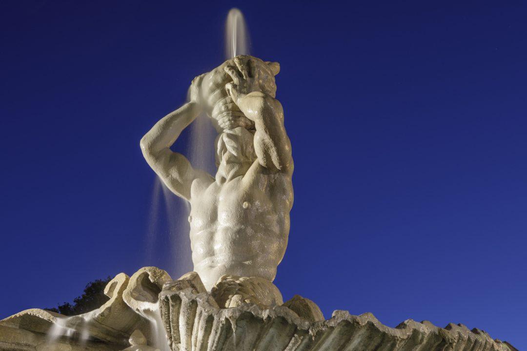Fontana Tritone Roma