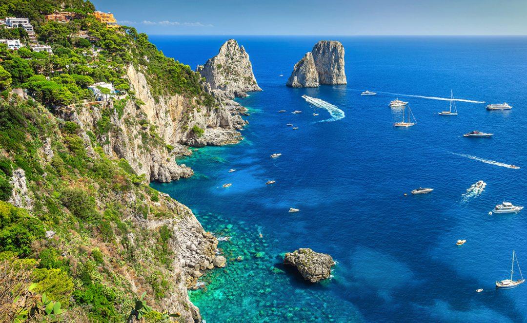 Vacanze in barca a vela in Italia: Capri