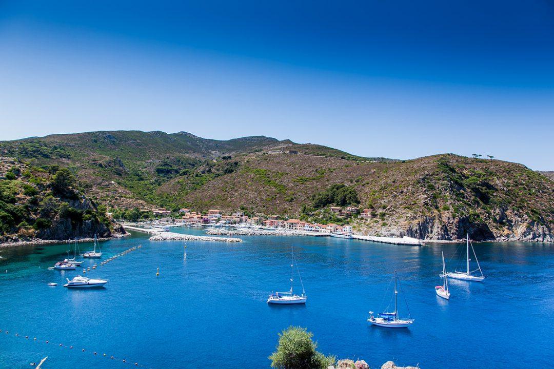 Capraia e l'arcipelago toscano