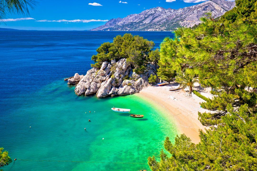 spiagge Croazia Punta Rata, Brela,