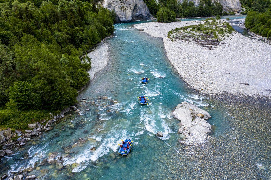 Reno anteriore, Svizzera