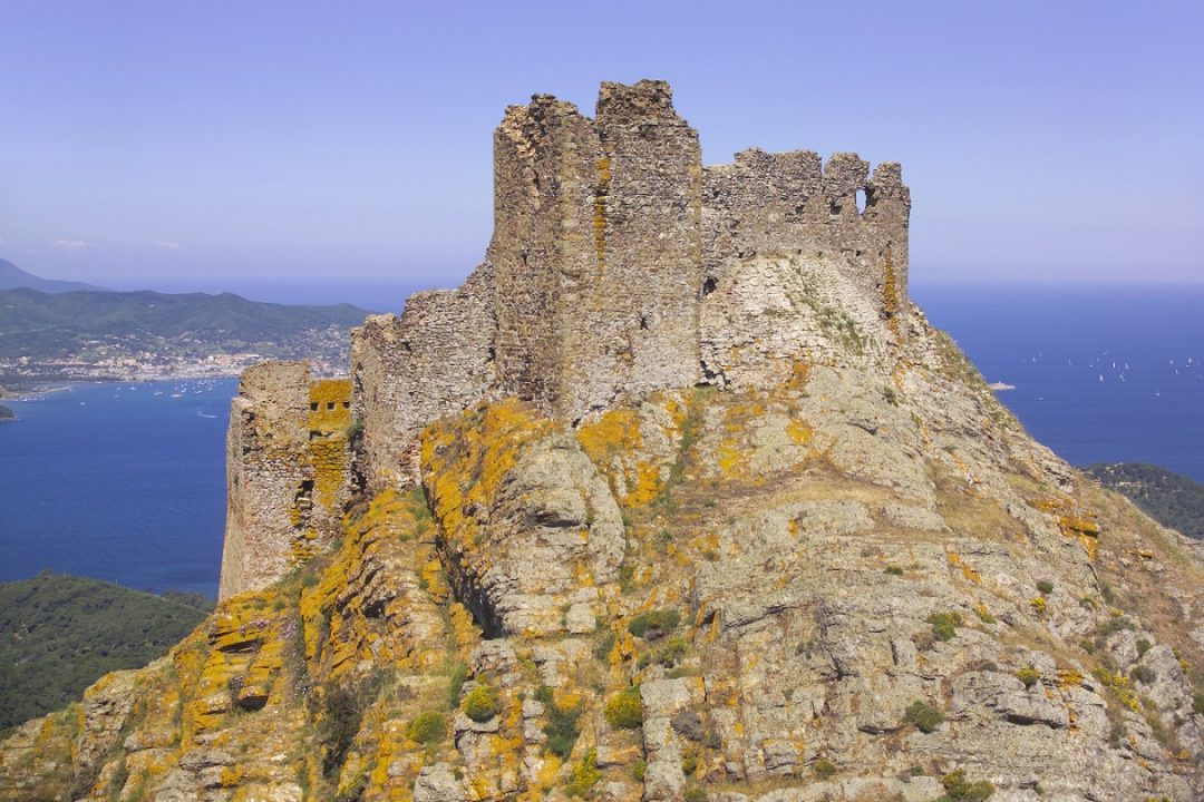 Castello del Volterraio, Isola d'Elba (Livorno)