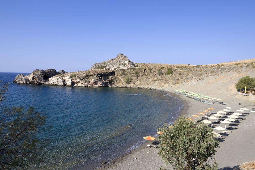 spiagge Creta Aghios Pavlos,