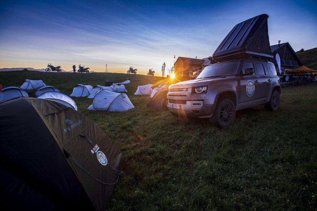 Alta Via del Sale: la notte in tenda
