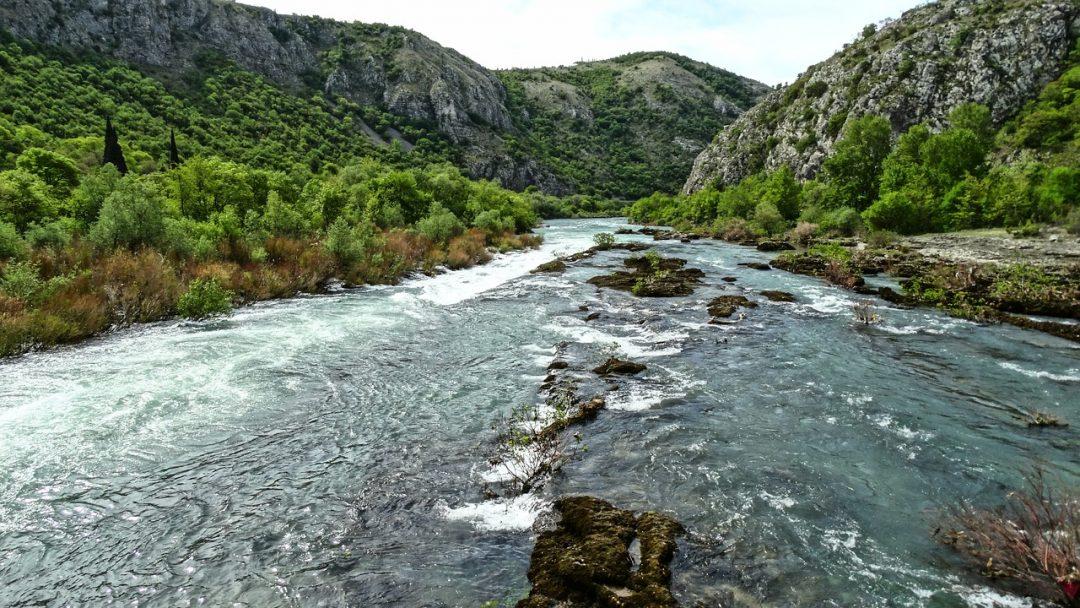 Fiume Neretva, Bosnia ed Erzegovina