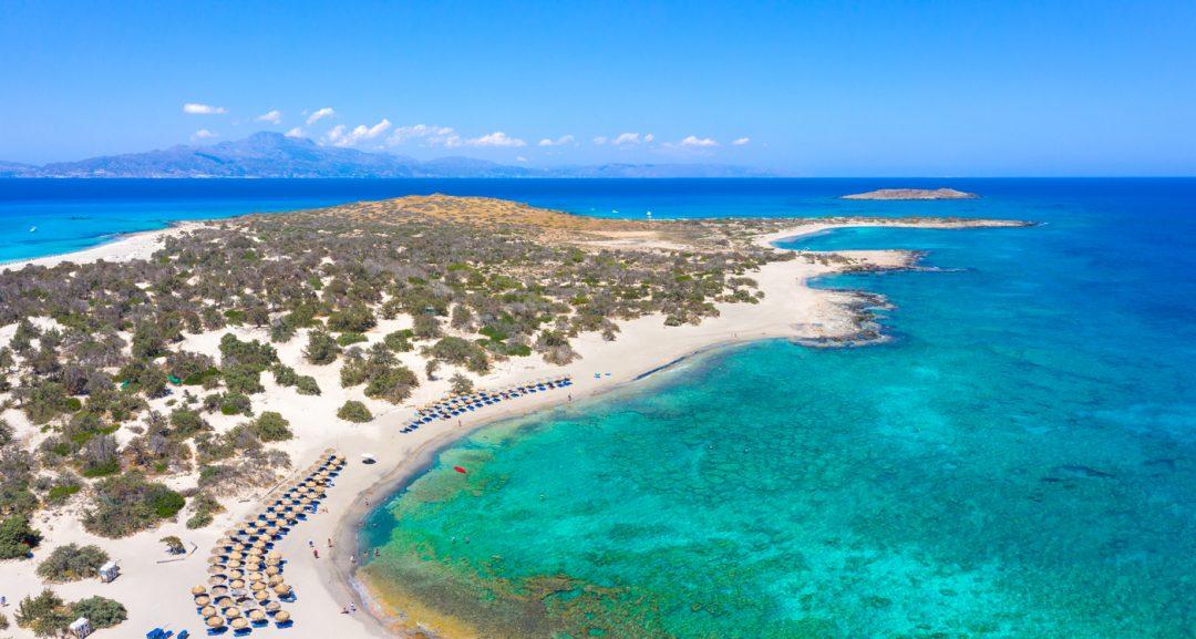 spiagge Creta isola di Chrissi