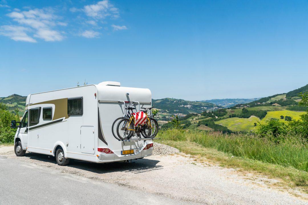 San Marino in camper