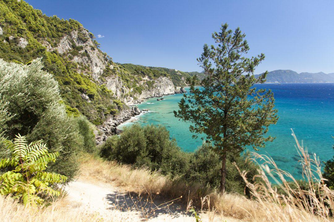 spiagge Corfù Glyfada