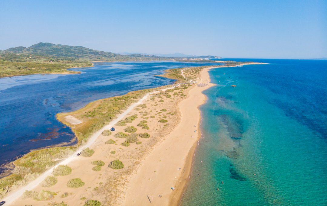 spiagge Corfù Halikounas