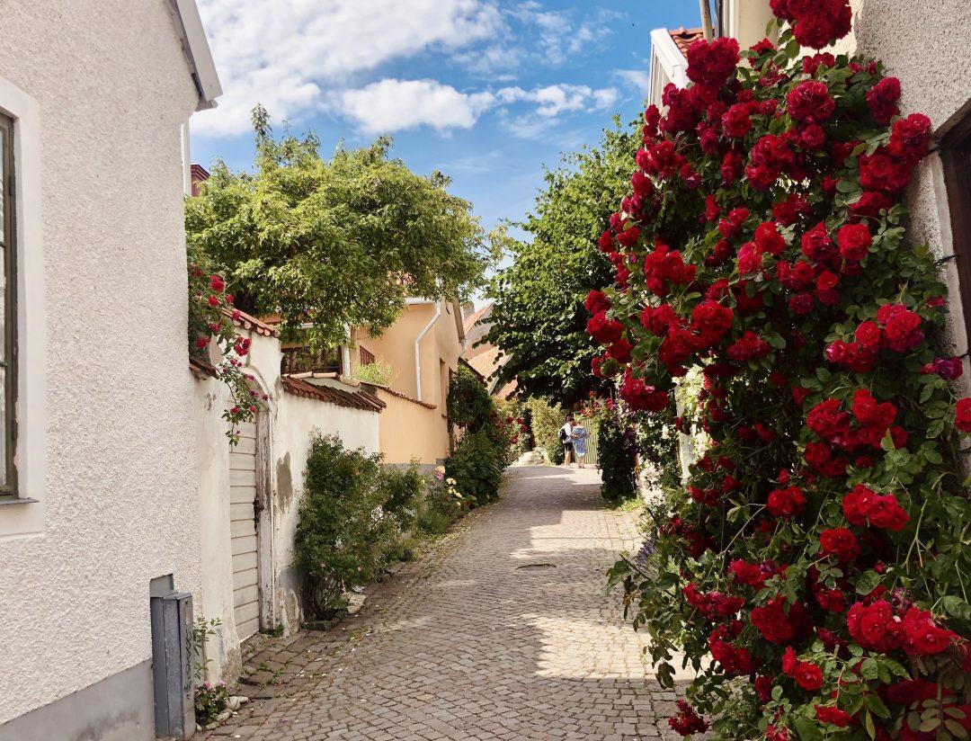Visby, la città con più ore di sole della Svezia